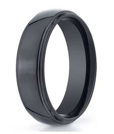 wedding matte and couples ring durable blend quick view black strong bands tungsten for women blue mens queenwish rings jewelry precious brushed tone anniversary two classical engagement