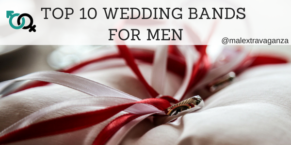 Top 10 Tough New Metal Wedding Bands for Men
