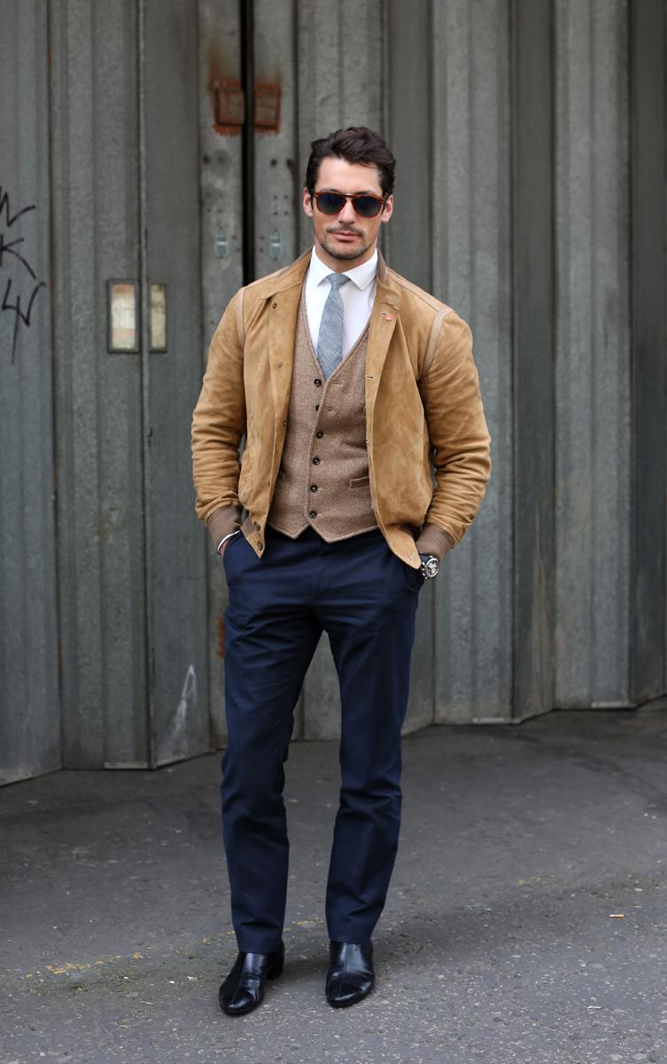 Men of Style: David Gandy's Style Profile