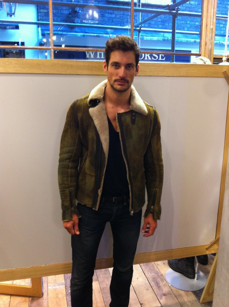 David Gandy in Diesel