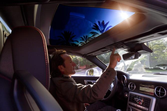 Mercedes Sky Control