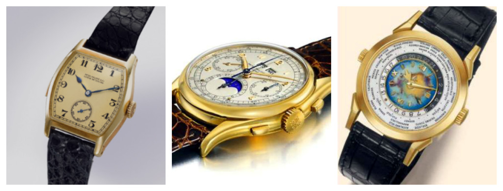 Patek Philippe Most Expensive Three