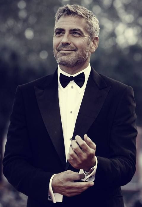 Famous Facial Hair-george-clooney
