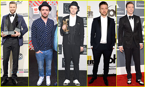 Justin Timberlake. The most stylish man in America.