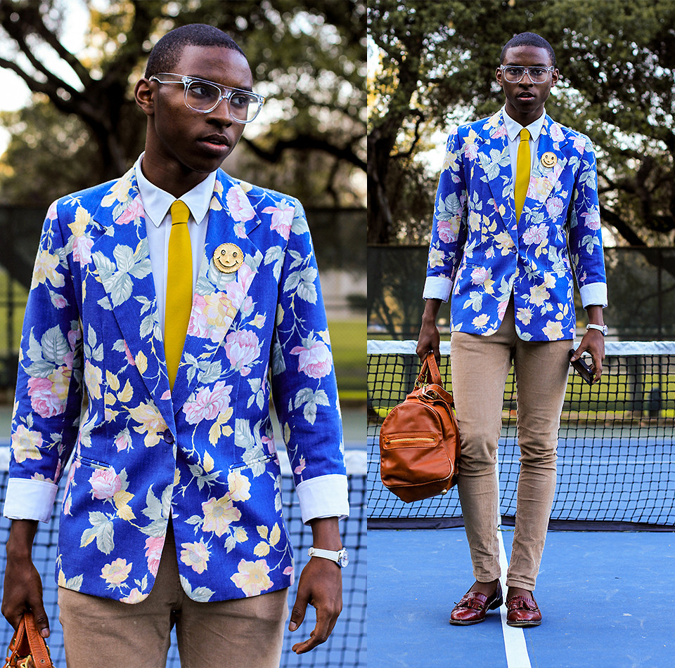 Guide to Wearing a Print Blazer - Streetstyle