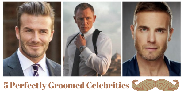 5 Perfectly Groomed Celebrities