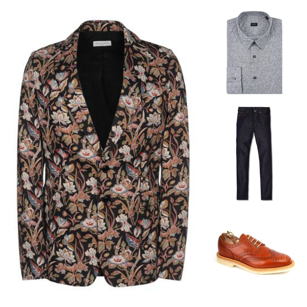 Guide to Wearing a Print Blazer - Pattern Mixing