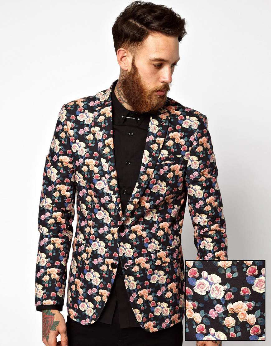 Mens Patterned Blazers Awesome Decorating Design