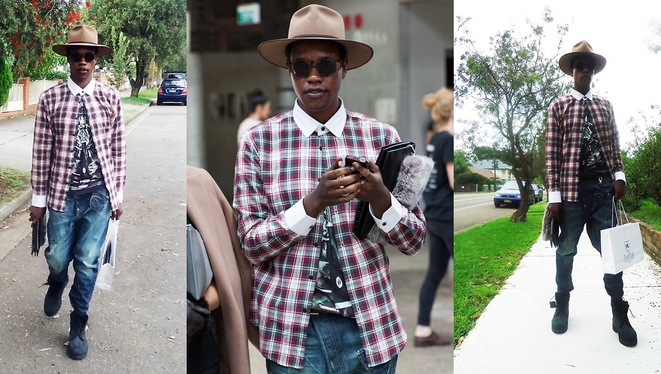 Checked Shirt Streetstyle