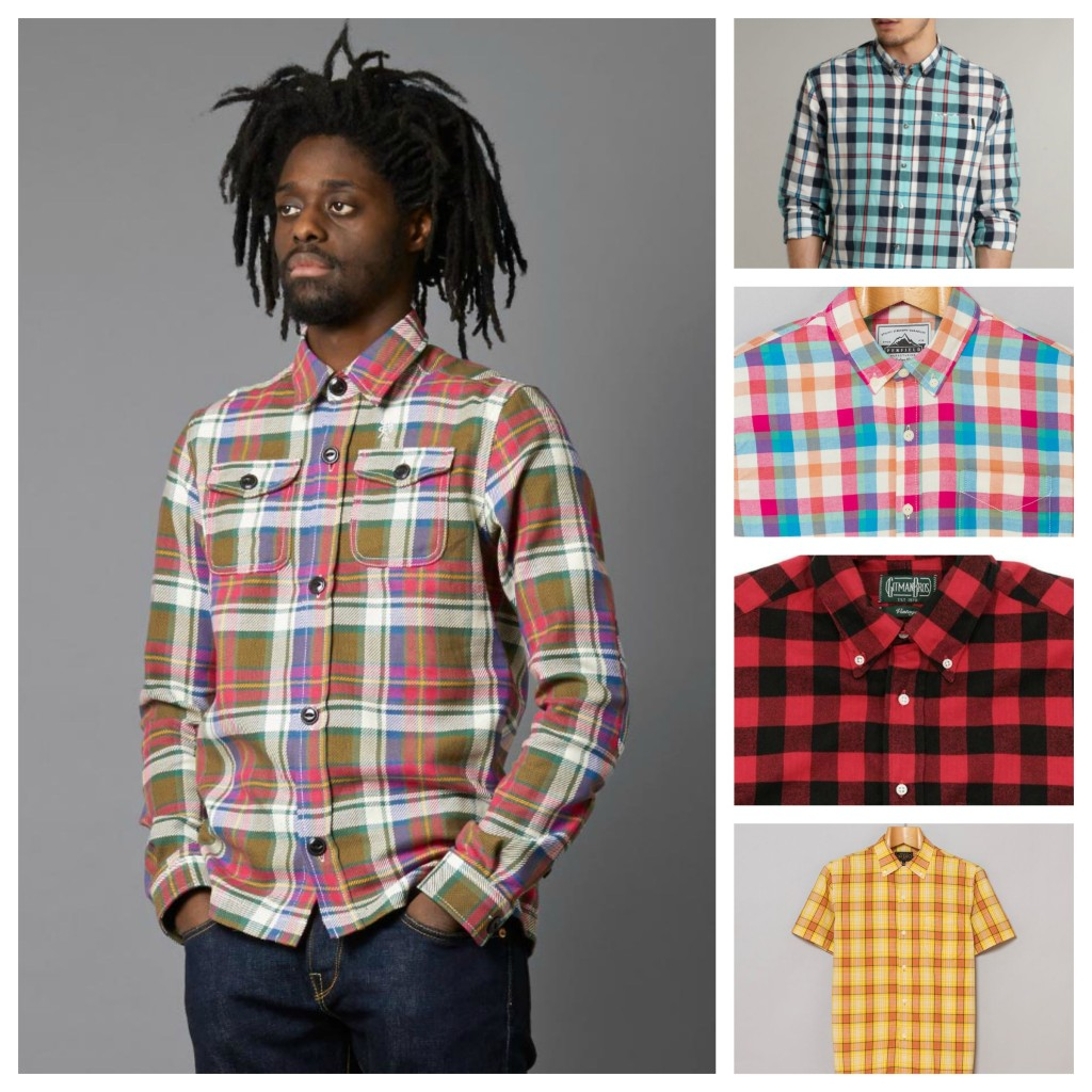 Utility Checked Shirt Trends