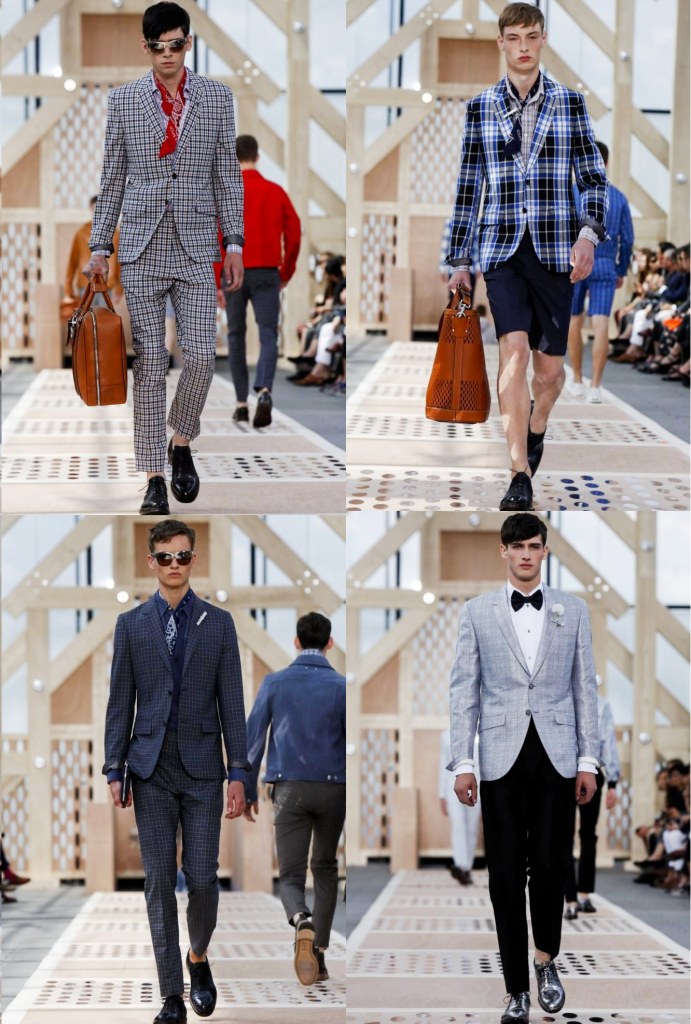 Checked Suit Trend - Runway Inspiration