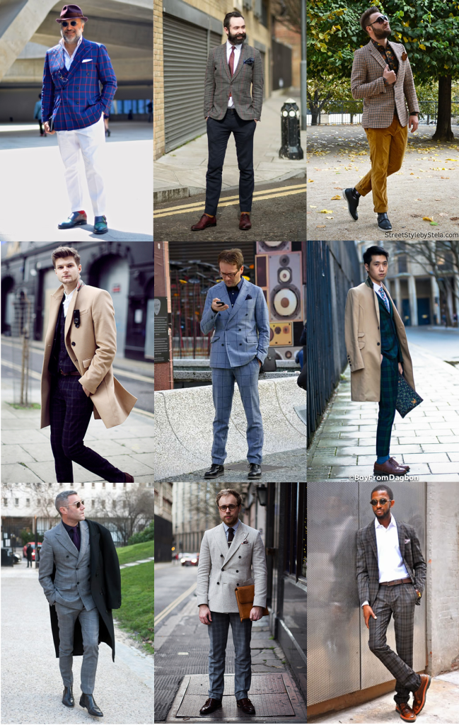 Checked Suit Trend - Street Style Inspiration