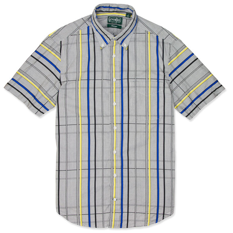 Gitman Vintage Lichtenstein Blue Shirt