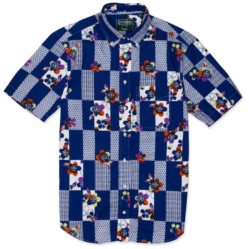 Gitman Checker Blossum Shirt