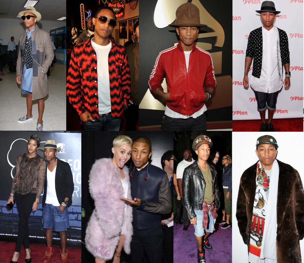 Pharrell Williams Casual Style Icon