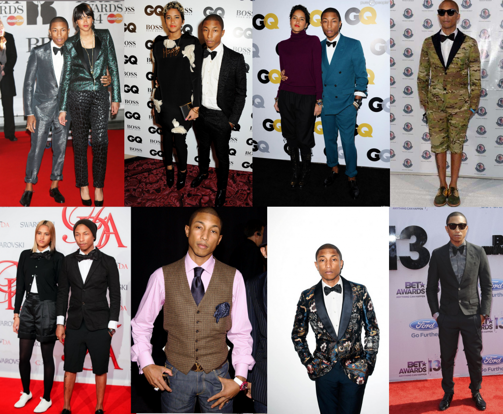 Pharrell Williams Formal Style Icon