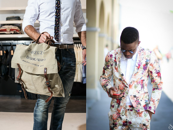 Floral Print Trends SS14 Men for Day