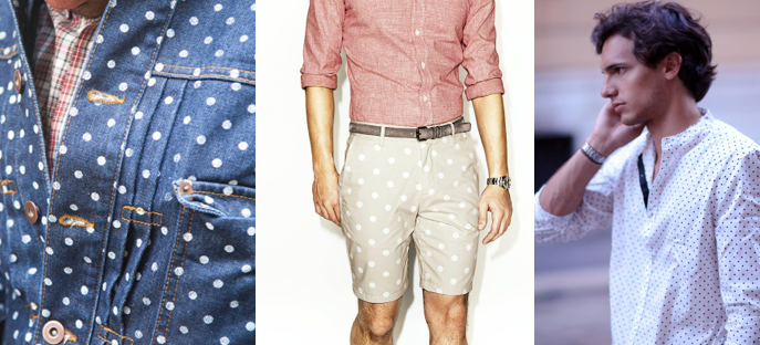 Prints on Prints Trend for SS14: Spots for Daily Wear