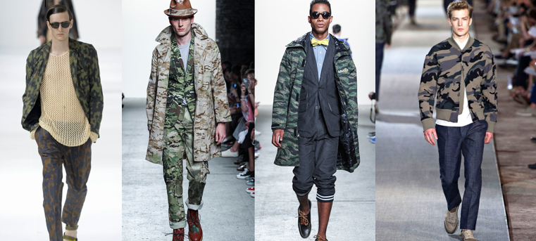 Prints on Prints Trend #SS14: #Camouflage