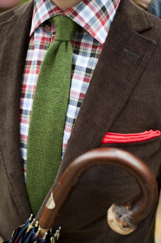 Woolen Tie Trends Lookbook & Streetstyle