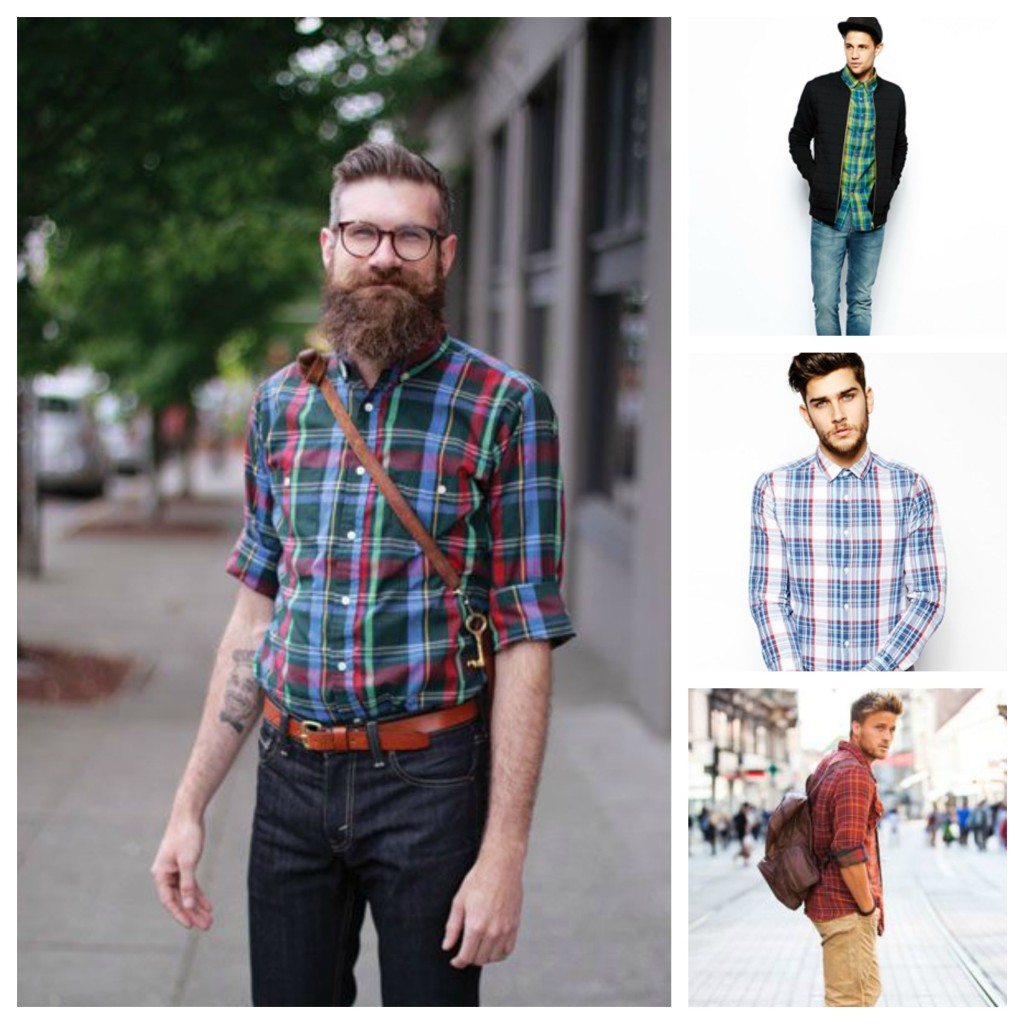 Checked Shirt Lookbook