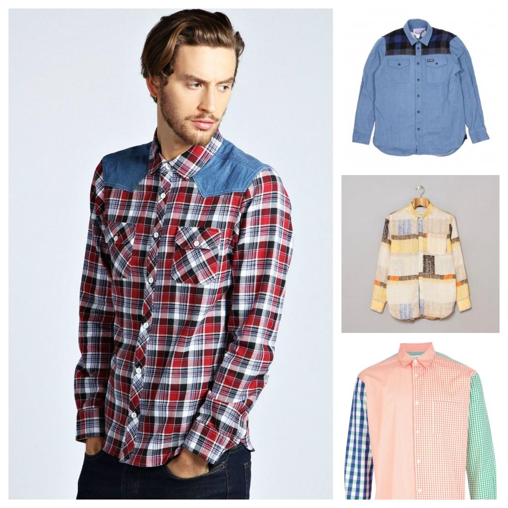Colour Block Shirt Trends