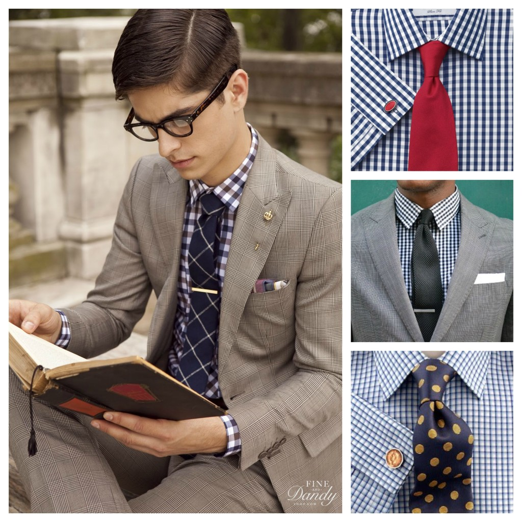 Formal Checked Shirt Trends