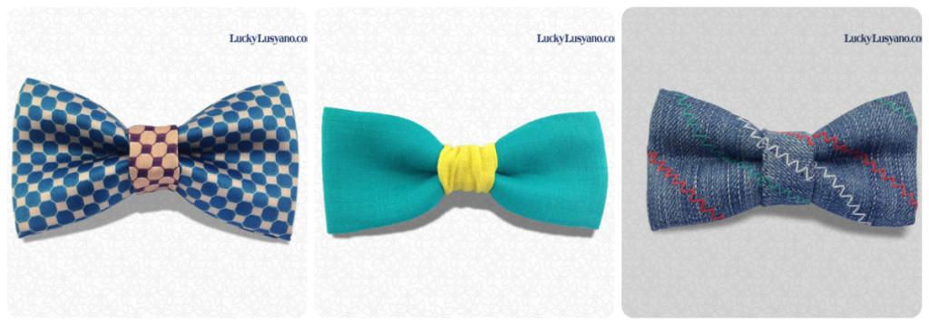LuckyLusyano Italian Handmade Bow Ties