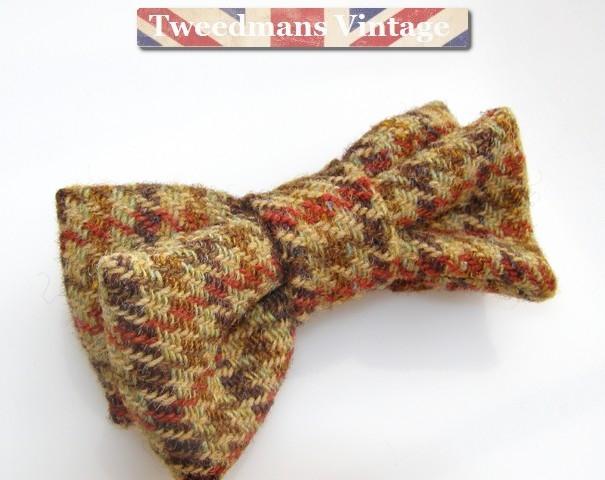 Harris Tweed - Men's Bow Tie