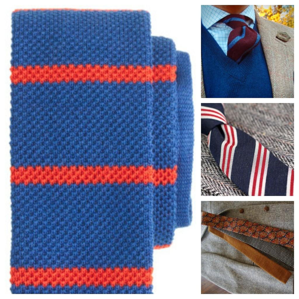 Patterned Wool Ties Trends
