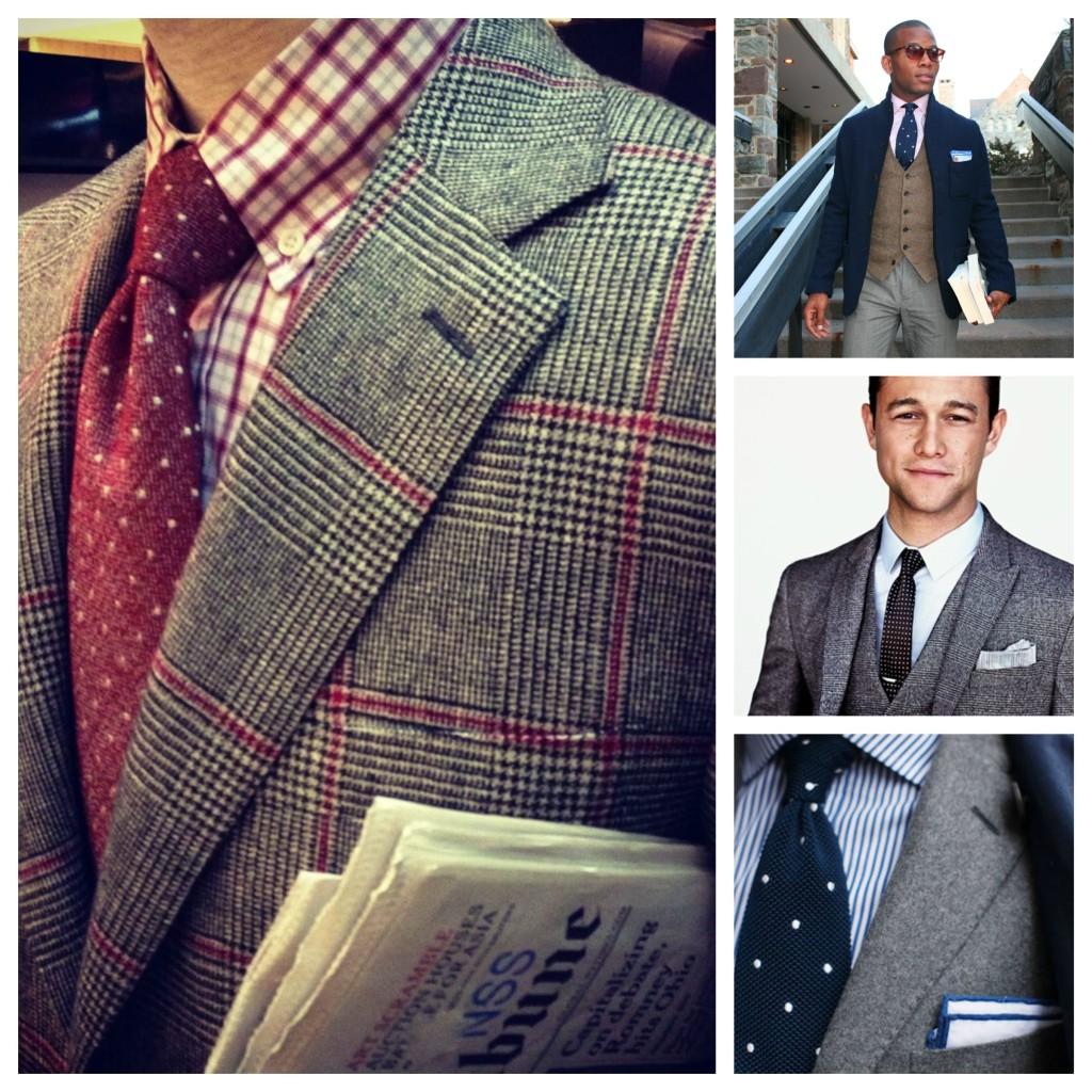 Polka Dot Wool Tie Trends