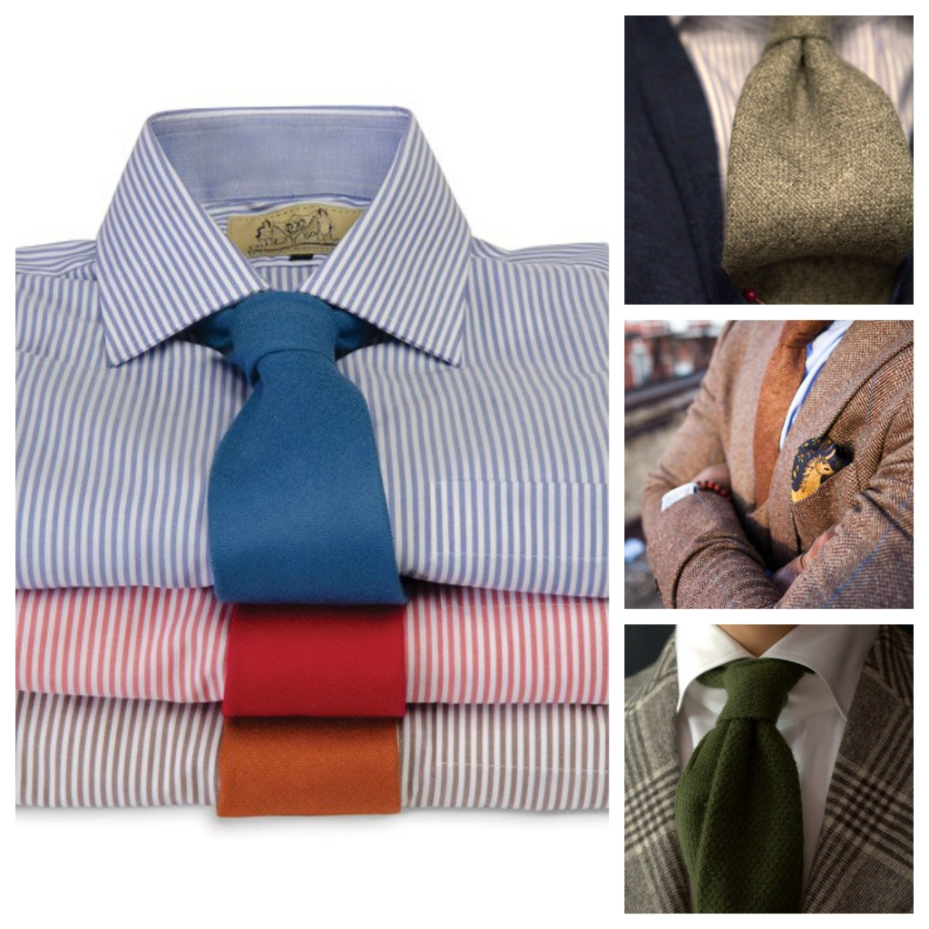 Traditional Wool Tie Trends