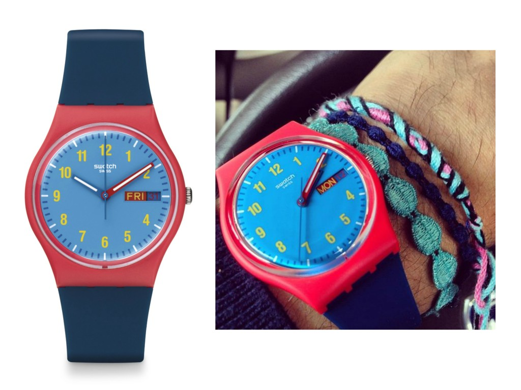 The Slushy Swatch Watch