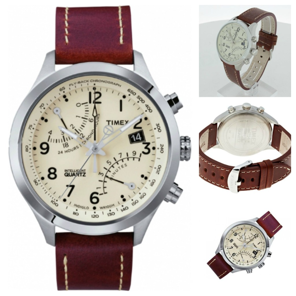 Timex Intelligent Quartz Gents Fly-Back Chronograph Watch