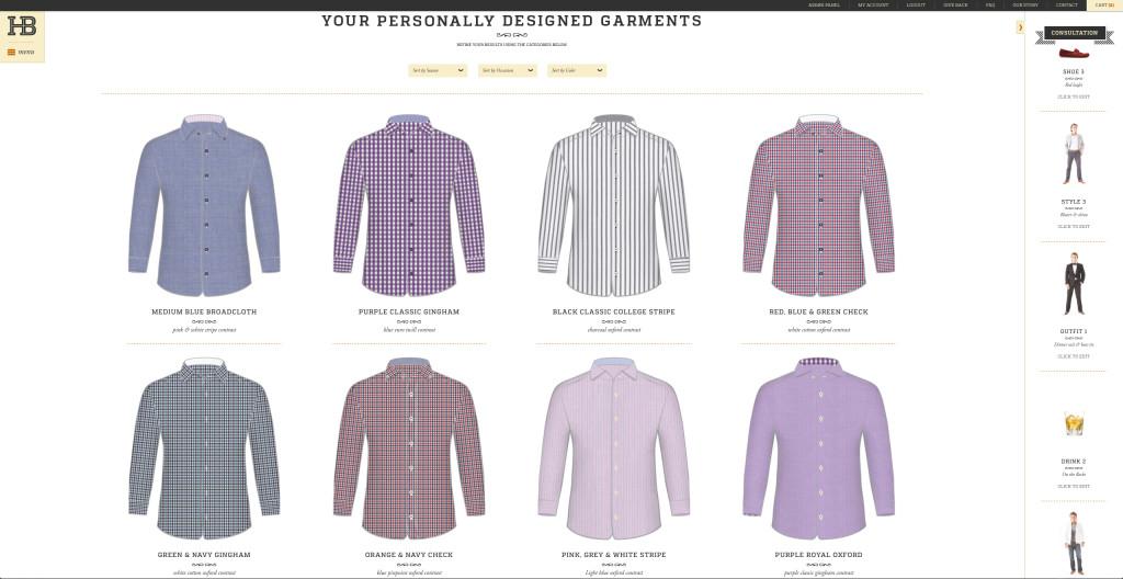 HenleyBond custom shirts website