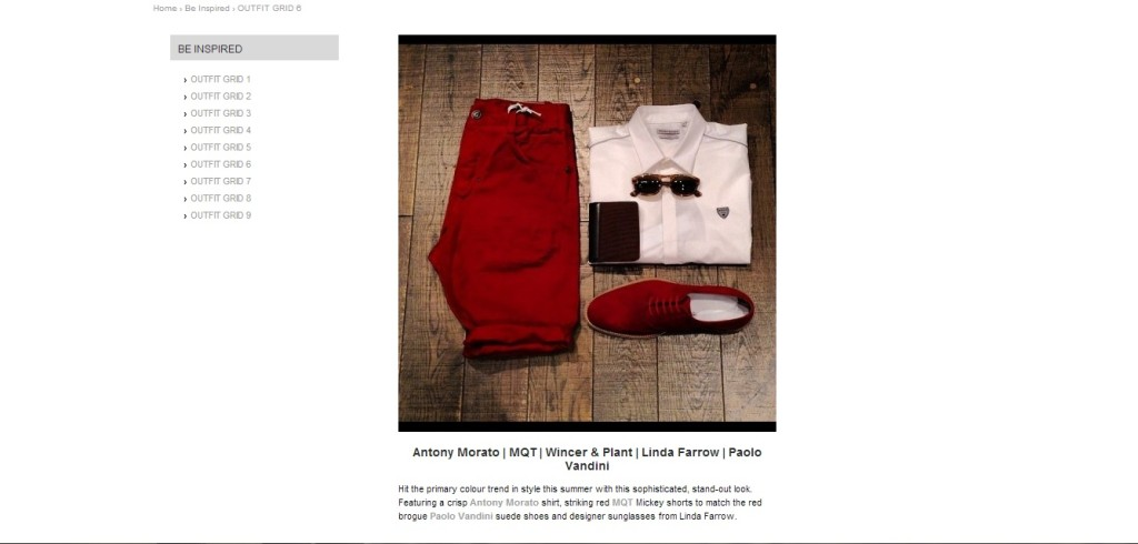 Red Outfit, Be inspired, Intro Clothing