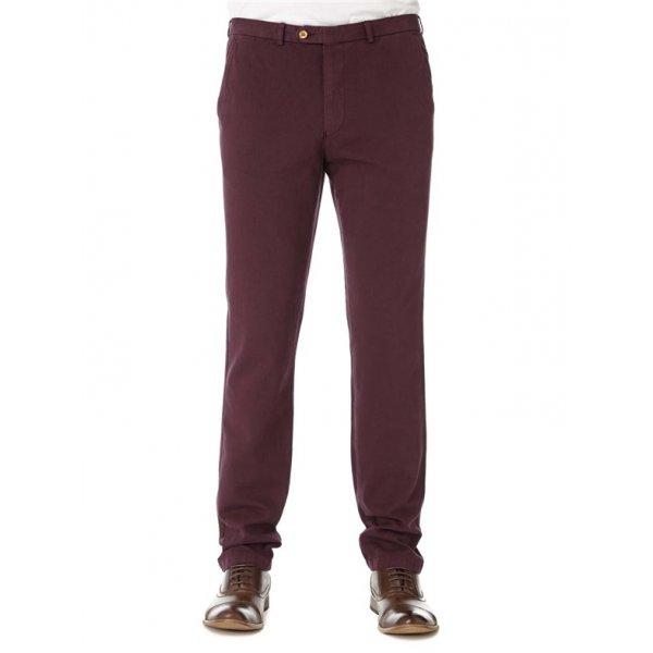 Slim Fit Trousers Remus Uomo