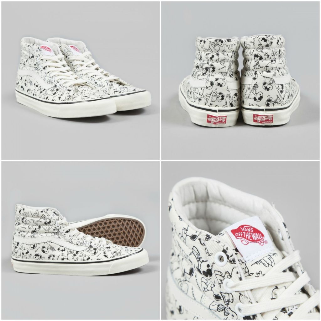 Vans Vault x Peanuts Camp Snoopy Sneakers
