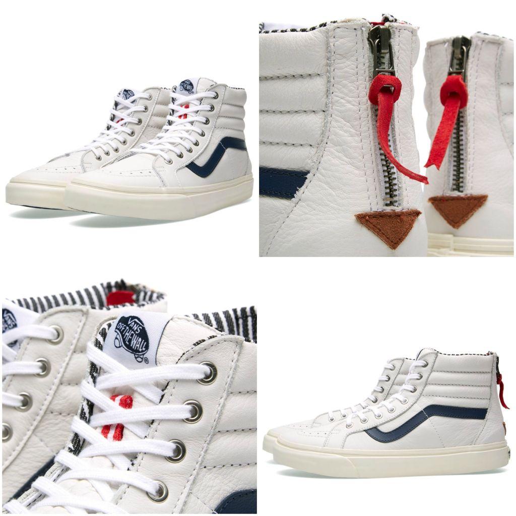 Vans Sk8-Hi Zip CA - Varsity Stripe