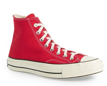 Converse 1970s Chuck Taylor® All Star® High Red Sneakers Men