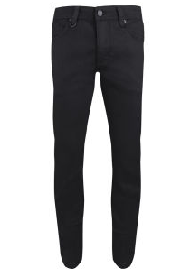 NEUW Men s Iggy Mid Rise Skinny Jeans Black Raw Mens Clothing