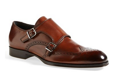 To Boot New York  Burns  Double Monk Strap Shoe Men in Brown
