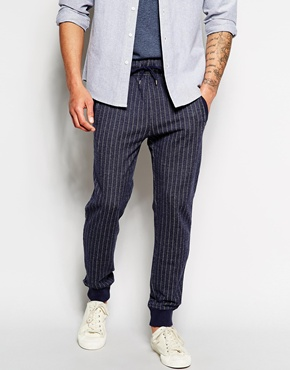 Stripe Slim Fit Sweatpants by BOSS Orange - Gift IDeas for Men