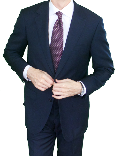 Navy Suit by Suitcafe - Gift Ideas for Men