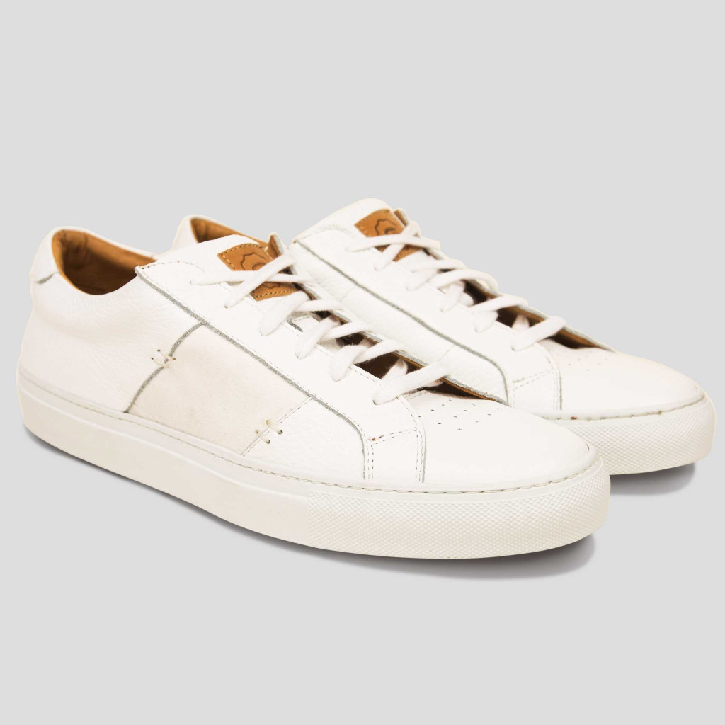 The Royale Sneaker in White by Greats - Gift Ideas for Men