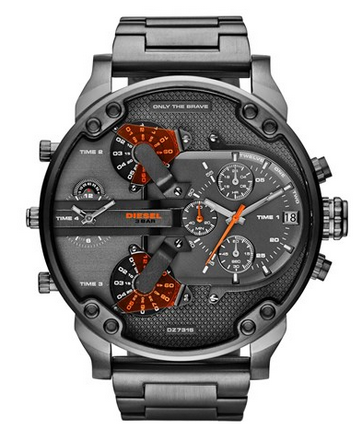 """Mr. Daddy 2.0"" Chronograph Watch by Diesel"
