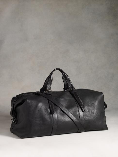 Moto Braid Duffle Bag by John Varvatos
