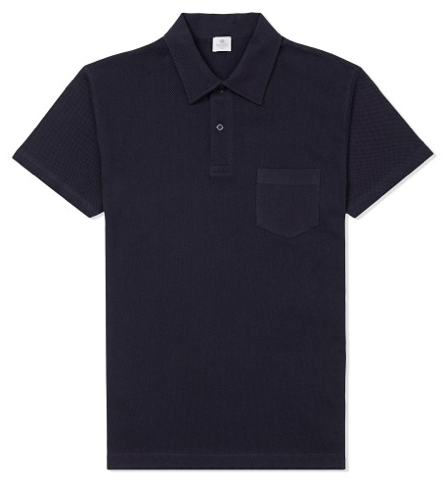 Navy Polo Shirt by Sunspel - Gift Ideas for Men