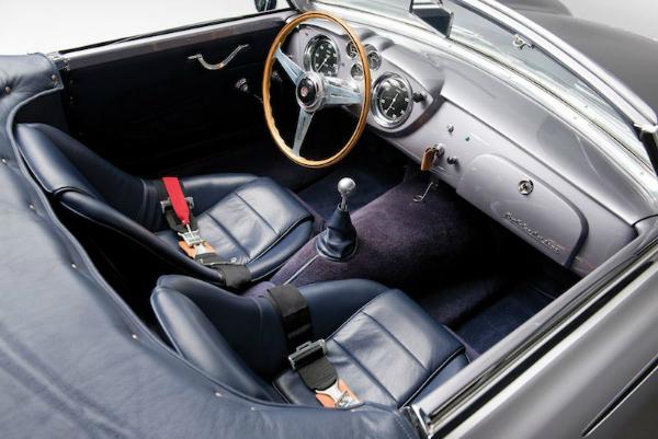 1953 Maserati A6G 2000 Frua Spider Interior