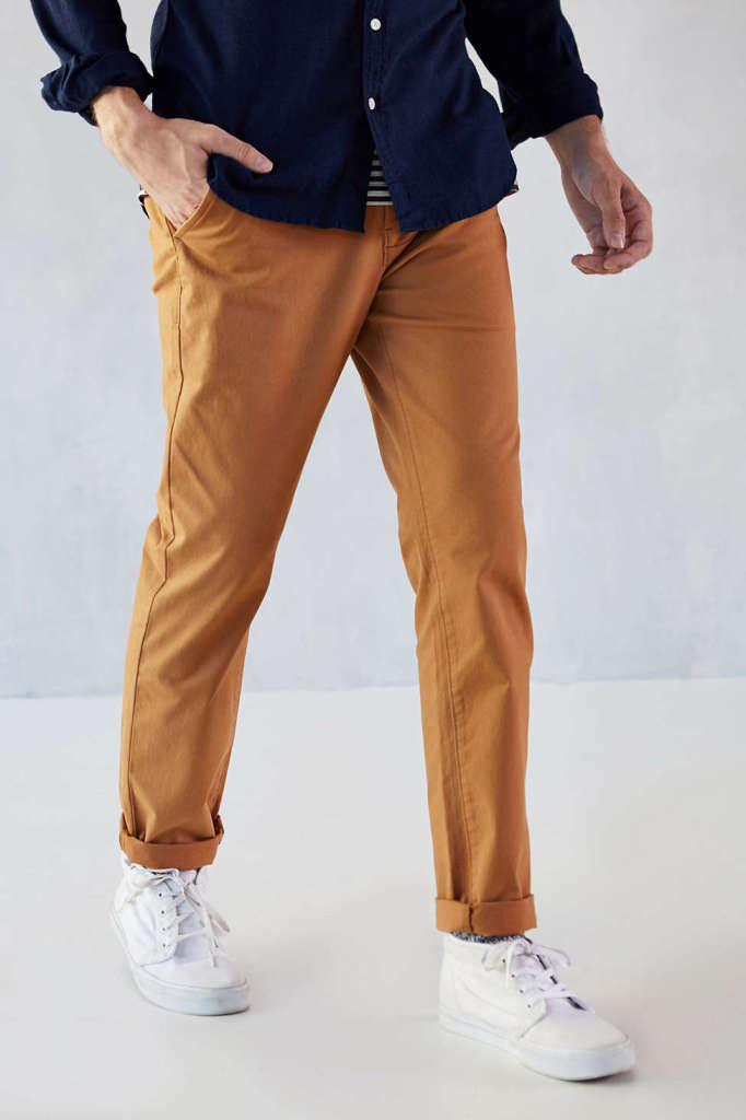 Light Brown Skinny Chinos by Hawkings McGill - Gift Ideas for Men